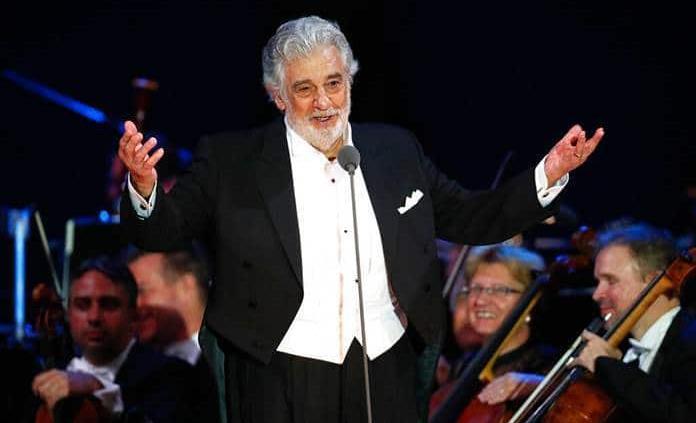 El tenor Plácido Domingo da positivo en coronavirus
