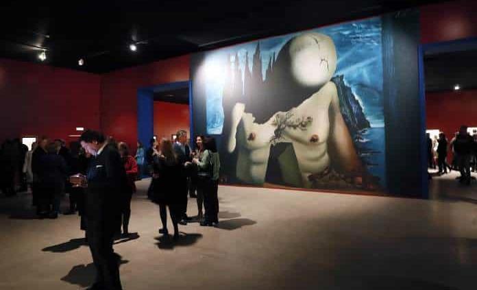 Muestra de Dalí en Rusia termina