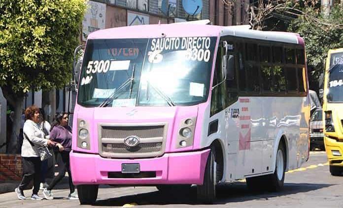El transporte público aplicará la sanitización
