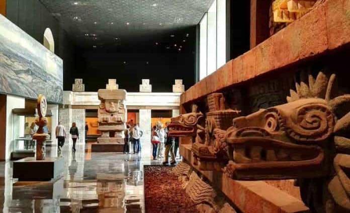 menos visitantes en museo de Antropología