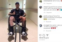 Nico Castillo es dado de alta, 41 días después