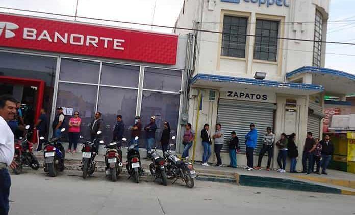 Instituciones bancarias, sin medidas sanitarias