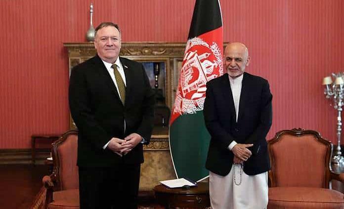 Pompeo visita por sorpresa Afganistán en medio de la crisis política afgana