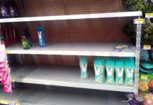 Tiendas de autoservicio limitan venta de productos de limpieza