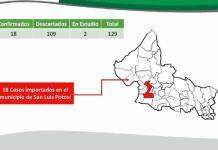VIDEO| Confirman dos nuevos casos de coronavirus en SLP; suman 18 en total