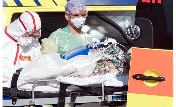 Los muertos en Italia son ya 7 mil 503 y siguen bajando los nuevos contagios