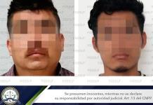 Caen dos hombres por homicidio ocurrido frente a negocio de mariscos de la ´57