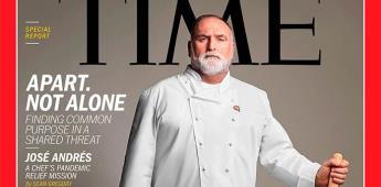 El chef José Andrés, portada de Time por su ayuda en la crisis del Covid-19