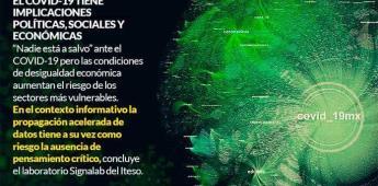 """Usuario de redes, vulnerables ante """"dinámicas incontrolables"""" provocadas por información del Covid-19"""