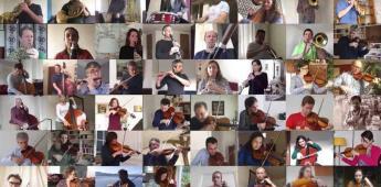 La música no muere: Bolero de Ravel sale de cuarentena (VIDEO)
