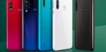 Presentan en México nuevos celulares Moto G8