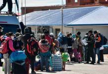 Recibe Gobierno de México a 189 connacionales repatriados de EUA