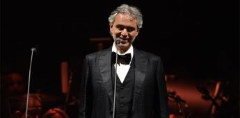 Andrea Bocelli cantará por Pascua