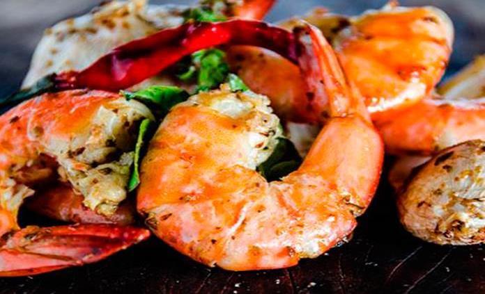 Tostadas de camarón y otras recetas para Cuaresma