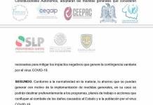 COVID-19 impone austeridad en SLP