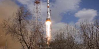 Rusia lanza misión tripulada a la EEI