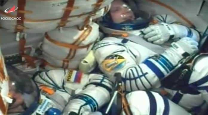 La nave tripulada Soyuz MS-16 se acopla con éxito a la Estación Espacial Internacional (VIDEO)'>