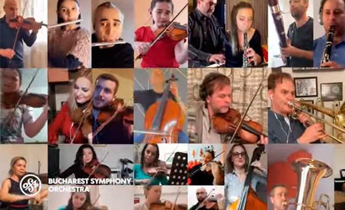 VIDEO: Un vals global tocado a distancia rinde homenaje a los héroes de la pandemia