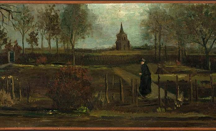 Video muestra que ladrón de cuadro de Van Gogh usó un mazo