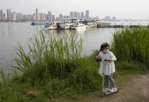 Río Yangtsé, símbolo del renacer de Wuhan