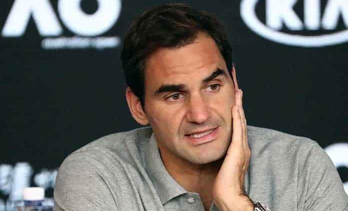 Roger Federer: No estoy entrenando, no veo una razón