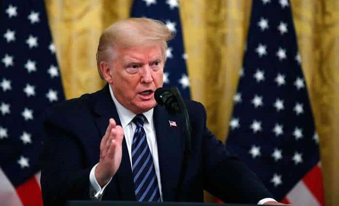 Trump amenaza a China con aranceles por el coronavirus