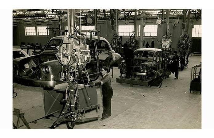 La planta de 1953.