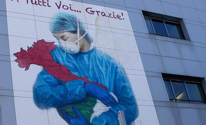 El arte italiano sale a la venta para ayudar a los trabajadores sanitarios
