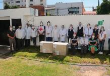 Entregan Clubes Rotarios equipo médico a instituciones públicas y privadas