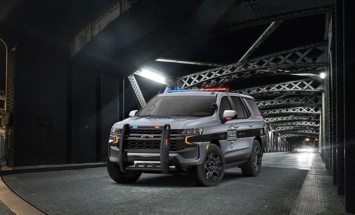 Chevrolet Tahoe policial, adaptada para el deber