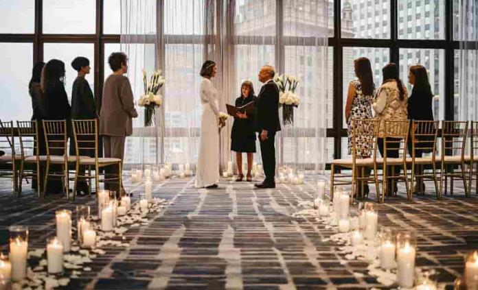 Minibodas para quienes quieren casarse durante pandemia
