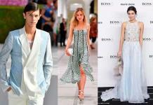 Celebridades se inspiran en la moda