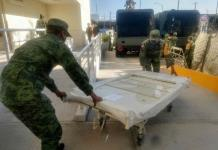 Entrega Sedena 21 camas e insumos al Hospital Central (FOTOS)