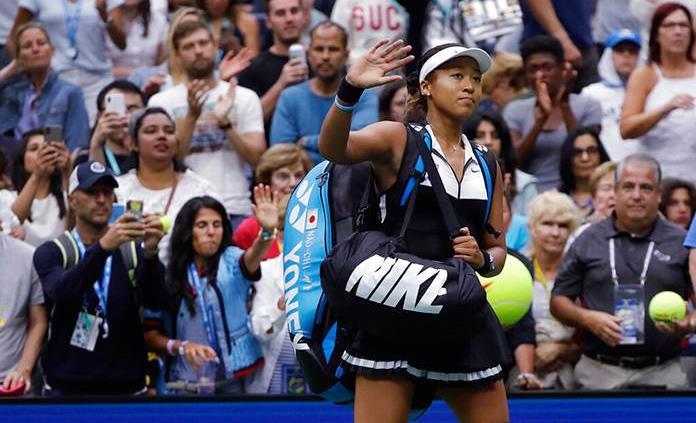 Osaka rebasa a Serena en lista de ganancias anuales, según Forbes