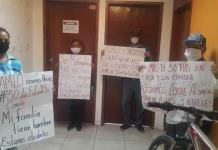 Familias exigen apoyo alimentario por pandemia