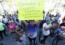Comerciantes mexicanos protestan contra políticas de confinamiento en Jalisco