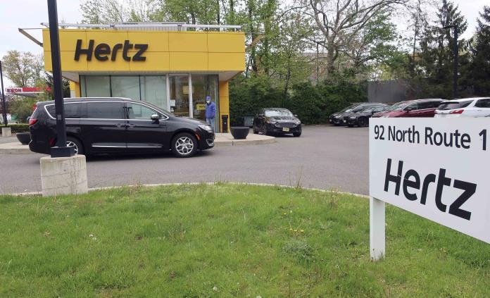 La compañía de alquiler de vehículos Hertz se preparara para la bancarrota