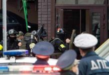 Detienen a un hombre que se atrincheró en un banco de Moscú y amenazó con bomba