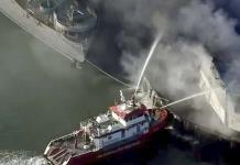 Se registra incendio en histórico muelle 45 de San Francisco