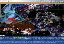 Se esperan fuertes lluvias en gran parte de la República Mexicana, incluidos algunos municipios de SLP