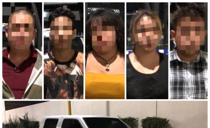 En operativo contra arrancones en Carranza, agentes detienen a cinco personas y un menor de edad