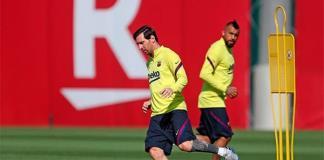 Messi, ansioso por volver a competir