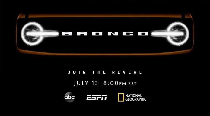 La red Disney presentará la Ford Bronco el 13 de julio'>