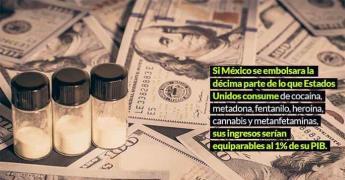 Cierre parcial de la frontera México-EU no frena al narco y crisis del fentanilo toma fuerza (Gráficos)