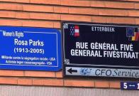 Barrios de Bruselas rebautizan sus calles para feminizar el espacio público