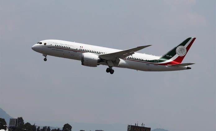 Sedena no justificó traslado de avión presidencial a EEUU