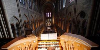Inicia proceso de limpieza del órgano de Notre Dame