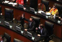 Proponen que senadores voten desde sus oficinas ante riesgo de Covid