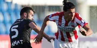 Erick Gutiérrez será baja tres meses en el PSV