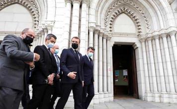 No cederemos nada, advierte Macron al denunciar el ataque terrorista islamista en Niza